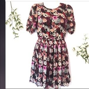 Urban Outfitters Pins and Needles Floral Dress